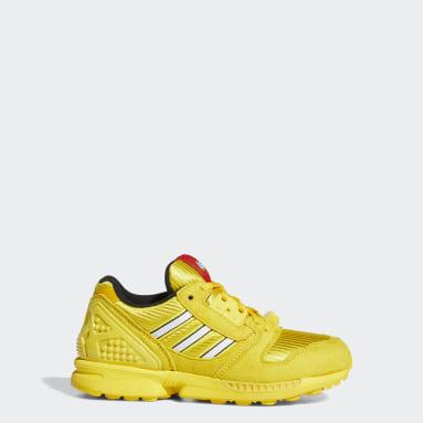 Chaussure adidas ZX 8000 x LEGO® jaune Adolescents Originals