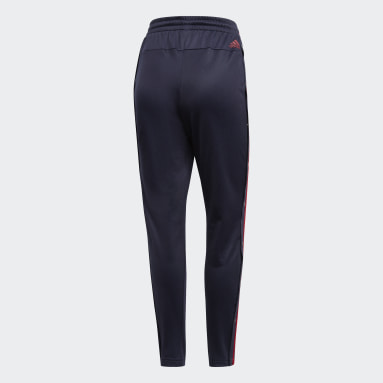 Dam Sportswear Blå ID 3-Stripes Snap Pants