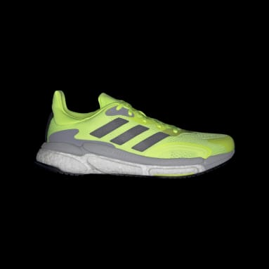 Men's Running Yellow SolarBoost 3 Shoes