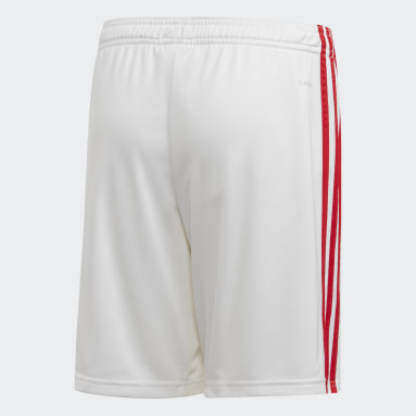 Short Domicile Arsenal Blanc Garçons Football