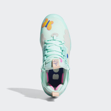 Chaussure Harden Vol. 5 Futurenatural Turquoise Basketball