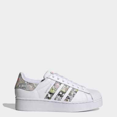 Women's Originals White Superstar Bold Shoes