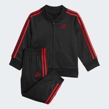 Infant & Toddler Training Red Classic Jacket and Joggers Set