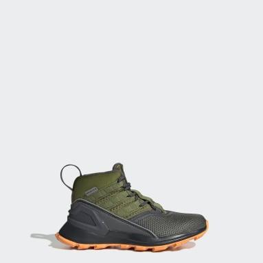 Kids Hiking Grey RapidaRun ATR Shoes