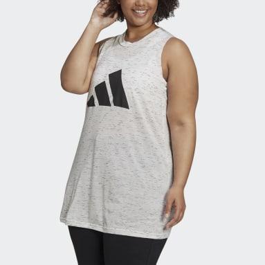 Frauen Sportswear adidas Sportswear Winners Tanktop 2.0 – Große Größen Weiß