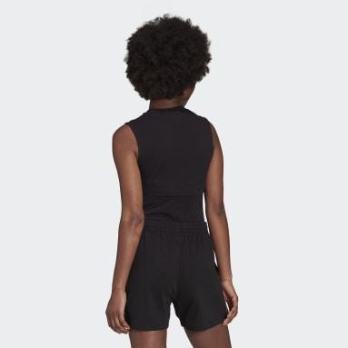 Women Originals Black Adicolor Single Jersey Bodysuit