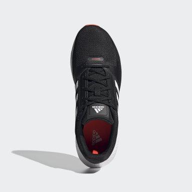Tenis Runfalcon 2.0 Negro Hombre Running