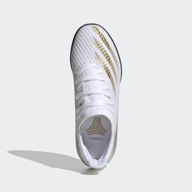 Chaussure X Ghosted.3 Turf Blanc Enfants Football