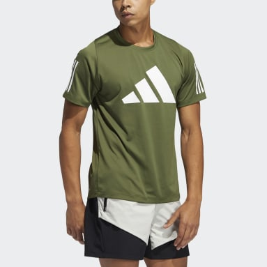 Men Running Green FreeLift Tee