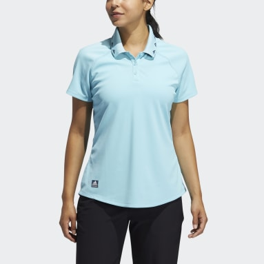 Dames Golf Blauw Equipment Primegreen Poloshirt
