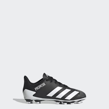 Boys Football Black Predator Mutator 20.4 Flexible Ground Boots