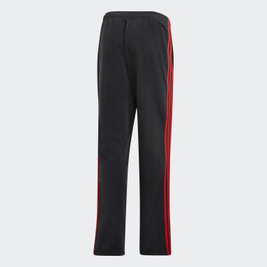 Men's Essentials Black Essentials 3-Stripes Pants