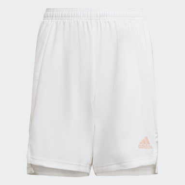 Youth 8-16 Years Football White Condivo 21 Primeblue Shorts