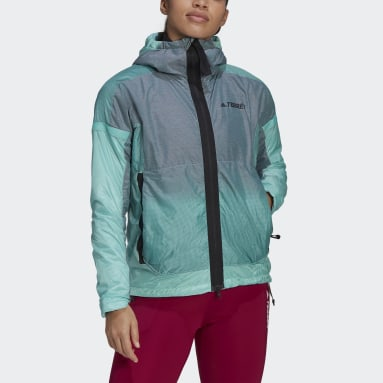 Dam TERREX Burgundy Terrex MYSHELTER Windweave Hooded Hiking Jacket