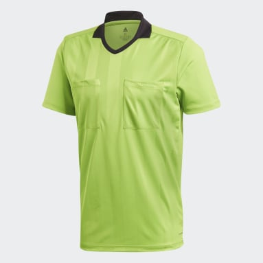 Camiseta Referee Verde Hombre Fútbol