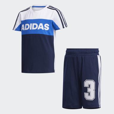 Kinderen Sportswear Wit Graphic Trainingspak