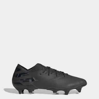Football Black Nemeziz 19.1 Soft Ground Boots