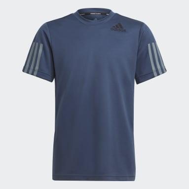 Camiseta HEAT.RDY Sport Azul Niño Gimnasio Y Entrenamiento