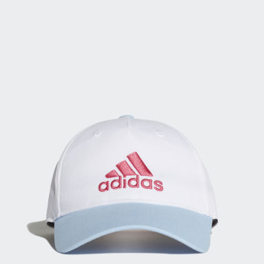 Kids Gym & Training White Graphic Cap