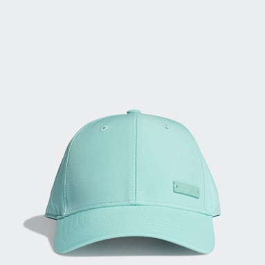 Gorra Lightweight Metal Badge Baseball Verde Hockey Hierba