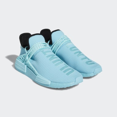 Erkek Originals Mavi HU NMD Ayakkabı