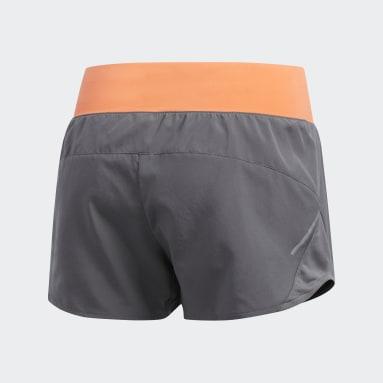 Women Running Grey Run It Shorts
