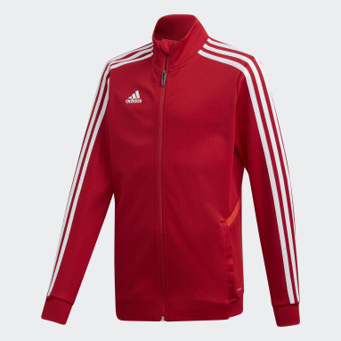 Youth Soccer Red Tiro 19 Training Jacket