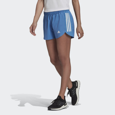 Pantalón corto Run It Azul Mujer Running