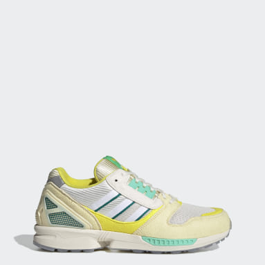 Men Originals Yellow ZX 8000 Frozen Lemonade Shoes