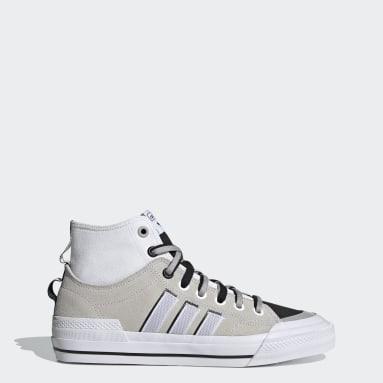 Men Originals White Nizza Hi DL Shoes