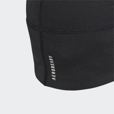 AEROREADY Fitted Beanie Svart