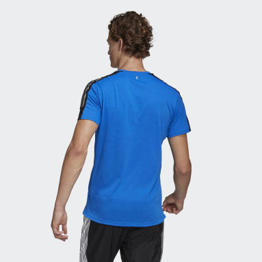 Camiseta Run It Space Race Azul Hombre Running