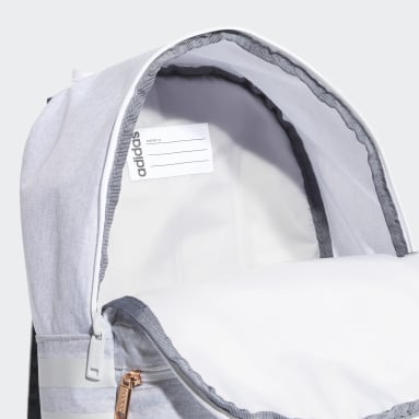 Children Essentials White Classic 3-Stripes Backpack