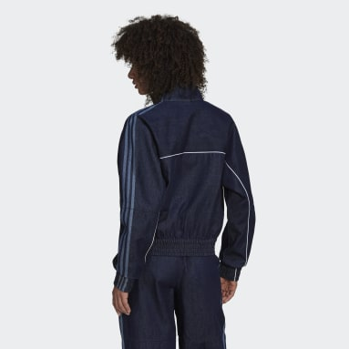 Dames Originals Blauw Denim Japona Trainingsjack