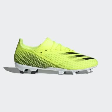 Zapatos de fútbol X Ghosted.3 Terreno Firme Amarillo Hombre Fútbol