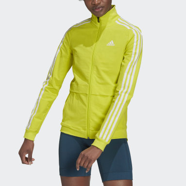 Women Cycling Yellow The Trackstand Cycling Jacket