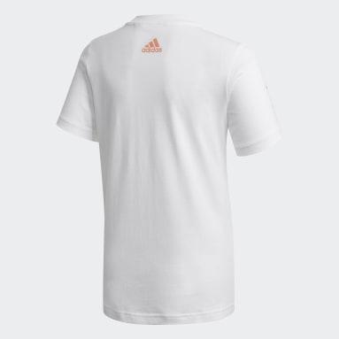 Camiseta Estampada Juventus Branco Meninos Futebol