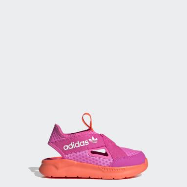Děti Originals růžová Sandály 360