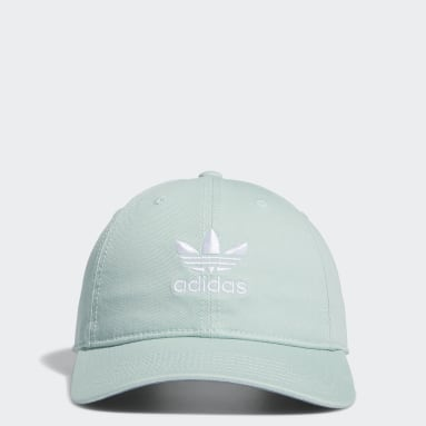 Women's Originals Green Relaxed Strap-Back Cap