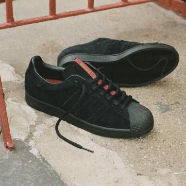 Originals Black Superstar ADV x Thrasher Shoes