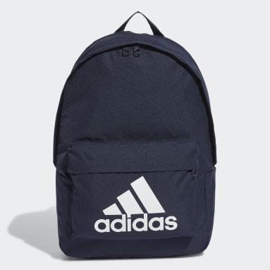 Lifestyle Blue Classic Big Logo Backpack