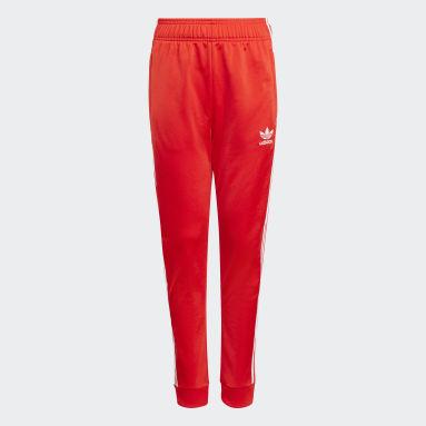 Track pants adicolor SST Rosso Bambini Originals