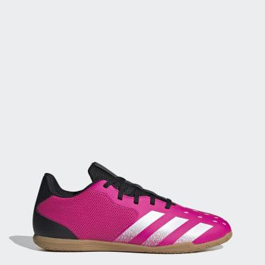 Men Football Pink Predator Freak.4 Sala Indoor Boots
