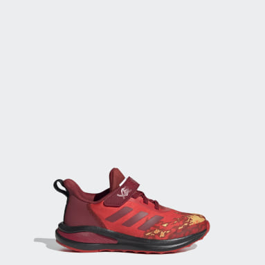 Chaussure LEGO® NINJAGO® adidas FortaRun rouge Enfants Course