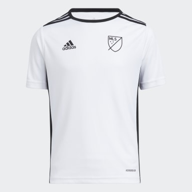 Youth Soccer White Entrada Jersey