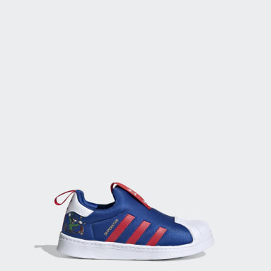 Kids Originals Blue Superstar 360 Shoes
