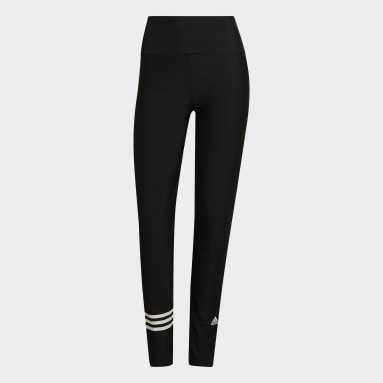 Women's Swim Black 3-Stripes Swim Pants