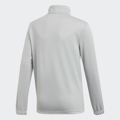 Camiseta entrenamiento Core 18 Gris Niño Fútbol