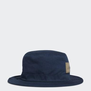 Men Golf Blue adidas Golf Bucket Hat