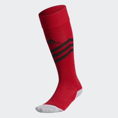 Training Red Mundial Zone Cushioned Socks